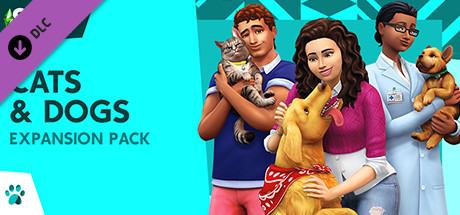 The Sims 4 Cats Dogs PC Game Free Download